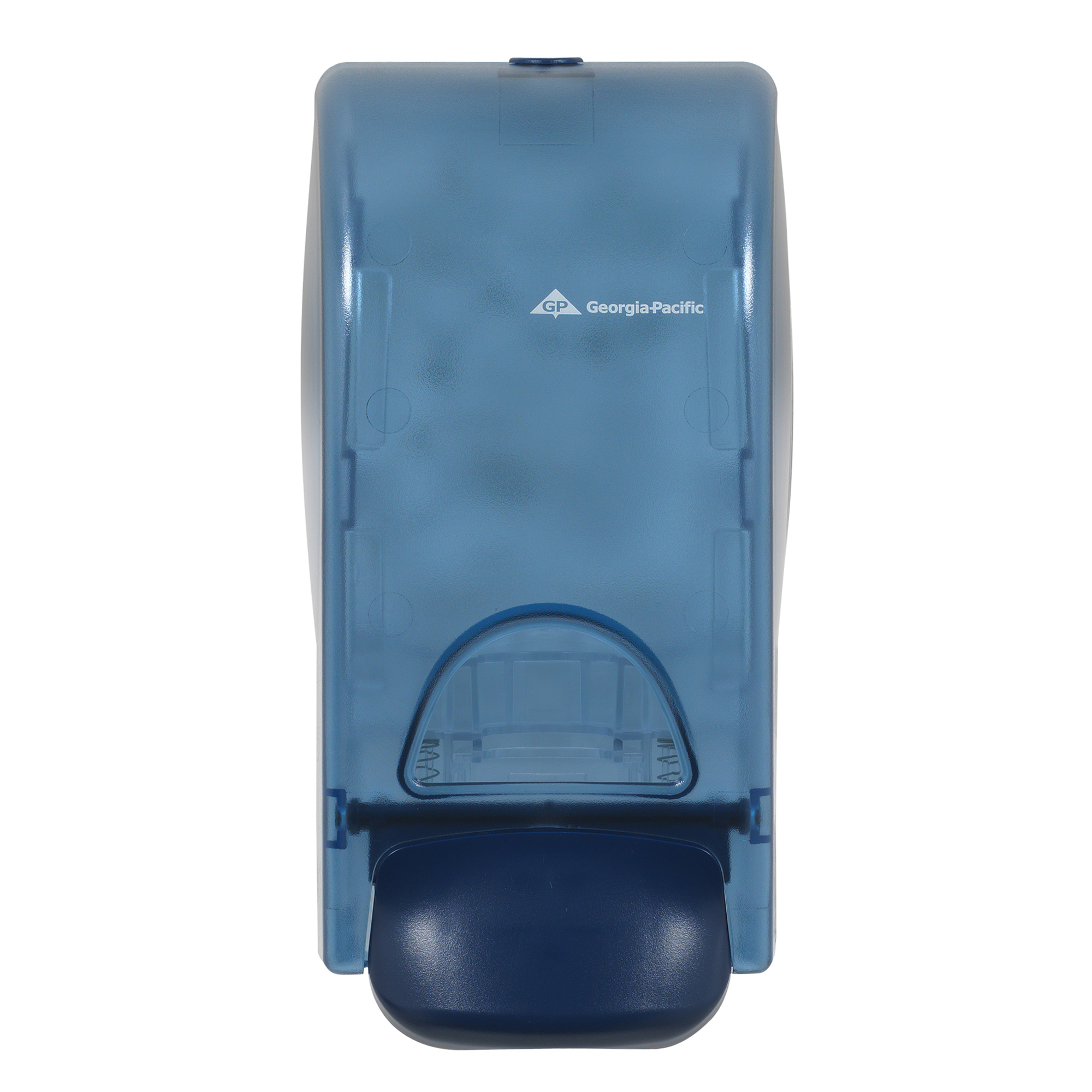 10073310530526 GP Splash Blue Mechanical 1200 ml Soap Dispenser