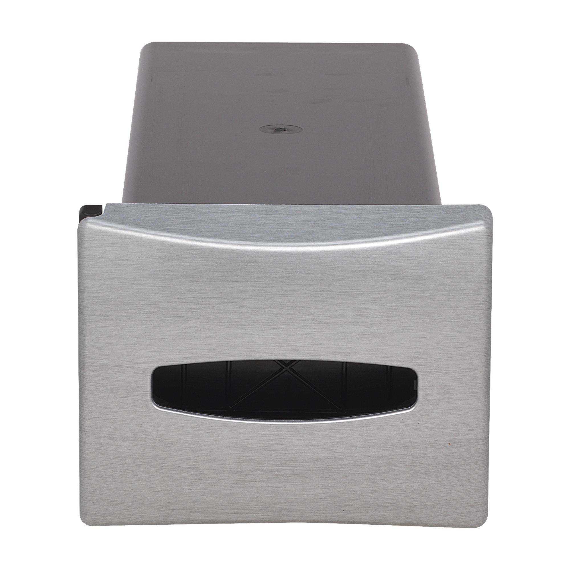 10073310542192 EasyNap® Brushed Stainless Finish In-Counter Napkin Dispenser
