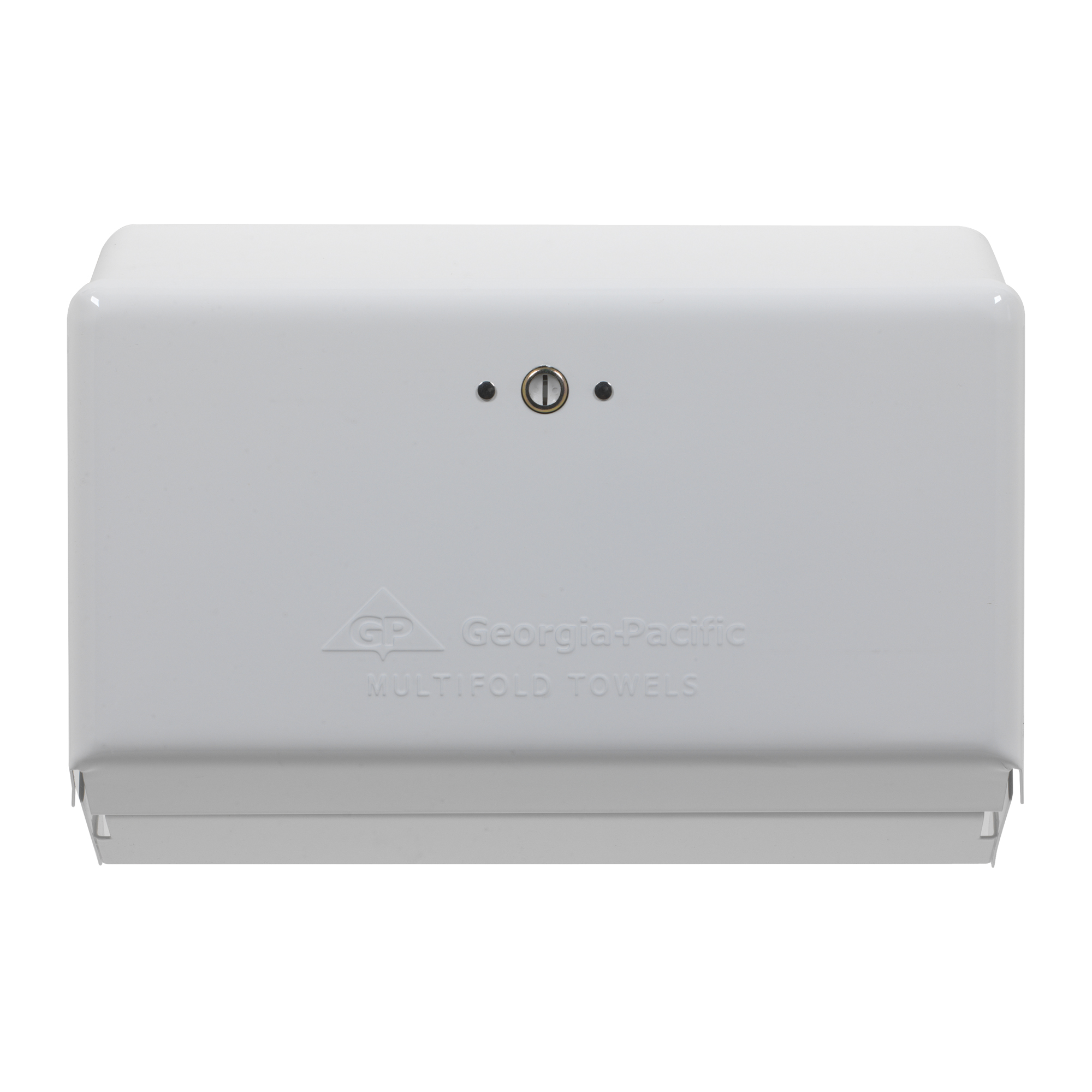 10073310547012 GP White Multifold Towel Dispenser