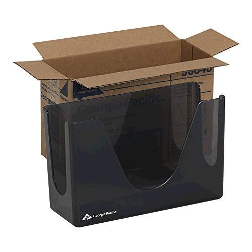 10073310566402 GP Smoke C-Fold or Multifold Countertop Towel Dispenser