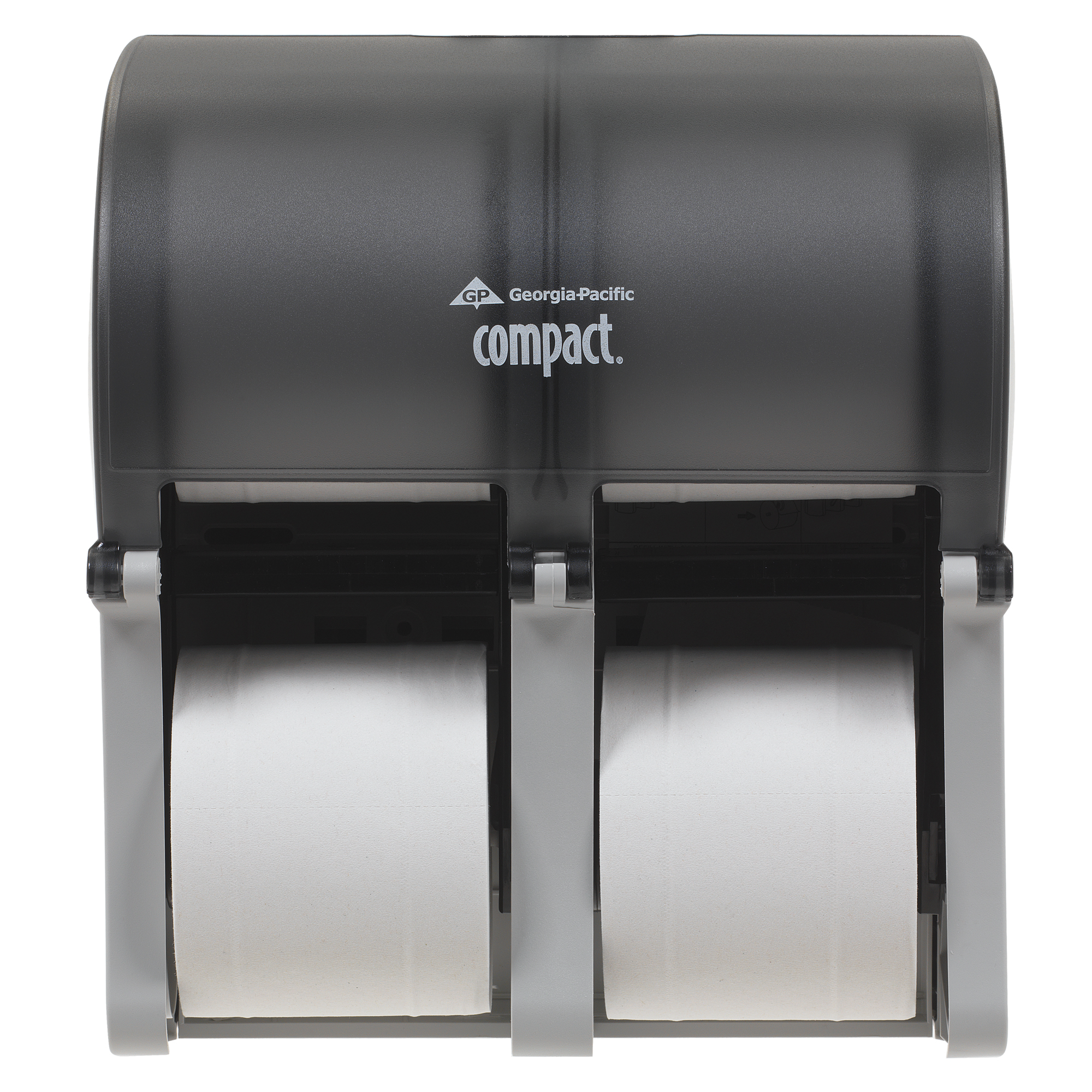 10073310567447 Compact� Vertical Four Roll Coreless Tissue Dispenser