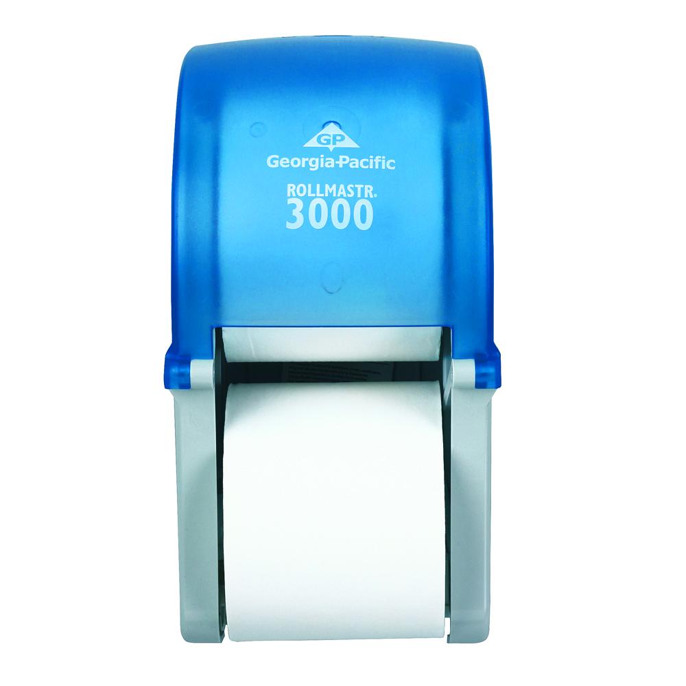10073310567607 Rollmastr 3000� Vertical 2 Roll High Capacity Bath - Splash Blue
