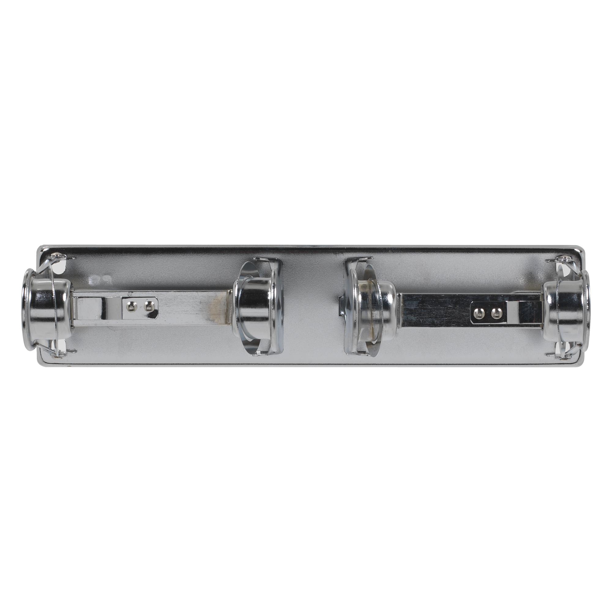 10073310571208 Georgia-Pacific® Chrome Metal 2-Roll Open Standard Bathroom Tissue Dispenser