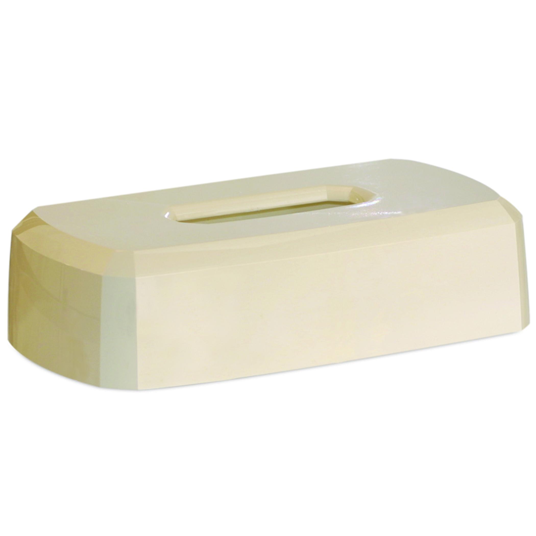 10073310574407 GP Vanilla Flat Box Facial Tissue Dispenser 5.750