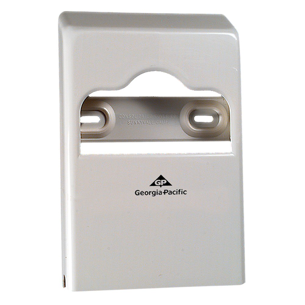 10073310577262 Safe-T-Gard™ White 1/4 Fold Seatcover Dispenser