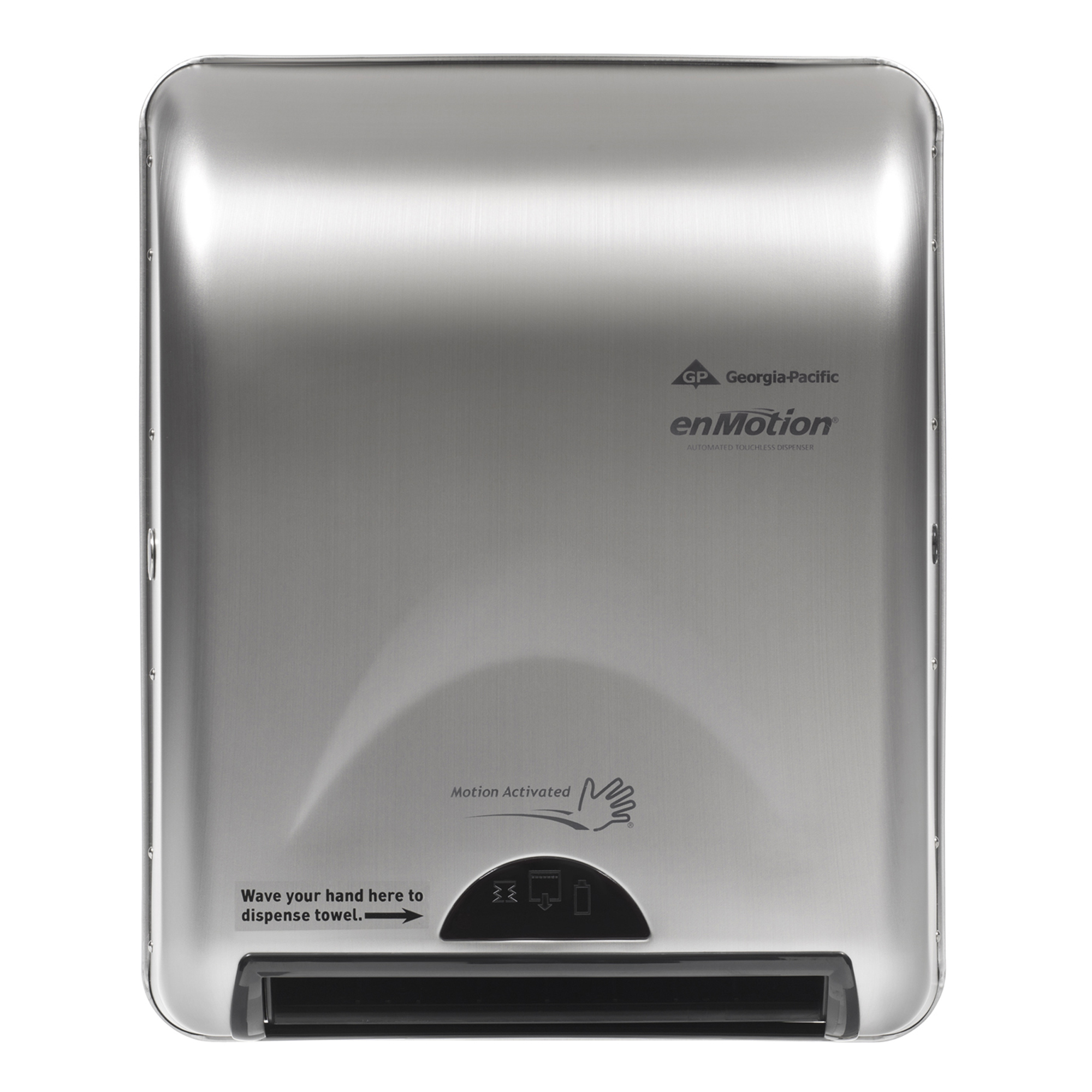 10073310594665 enMotion� Stainless Recessed Automated Touchless Towel Dispenser