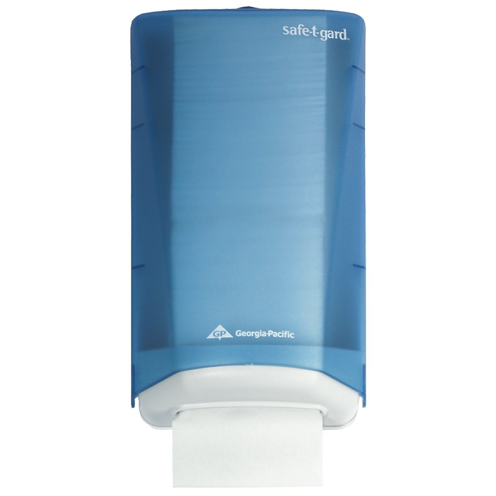 10073310595099 Safe-T-Gard™ Splash Blue Door Tissue Dispenser