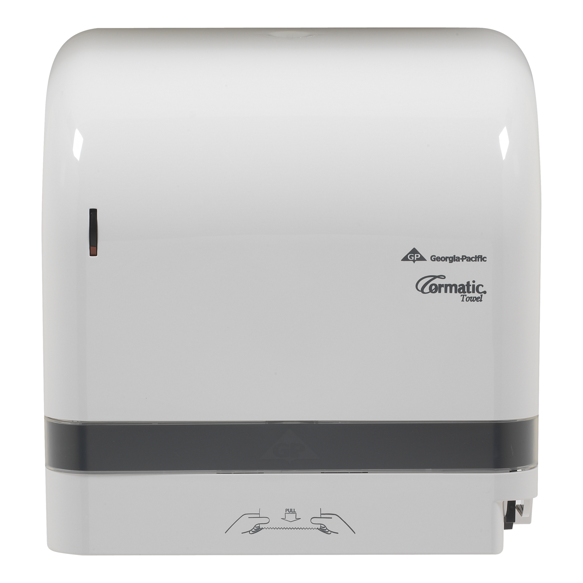 10073310300594 Cormatic� White Mechanical Designer Series Roll Towel Dispenser