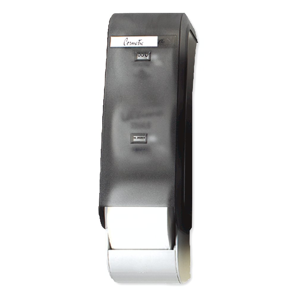 10073310300501 Cormatic® Translucent Smoke Vertical 3-Roll Bathroom Tissue Dispenser