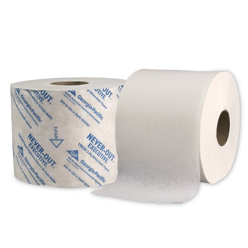 10073310190294 NeverOut� White Executive 2-Ply High Capacity Bathroom Tissue
