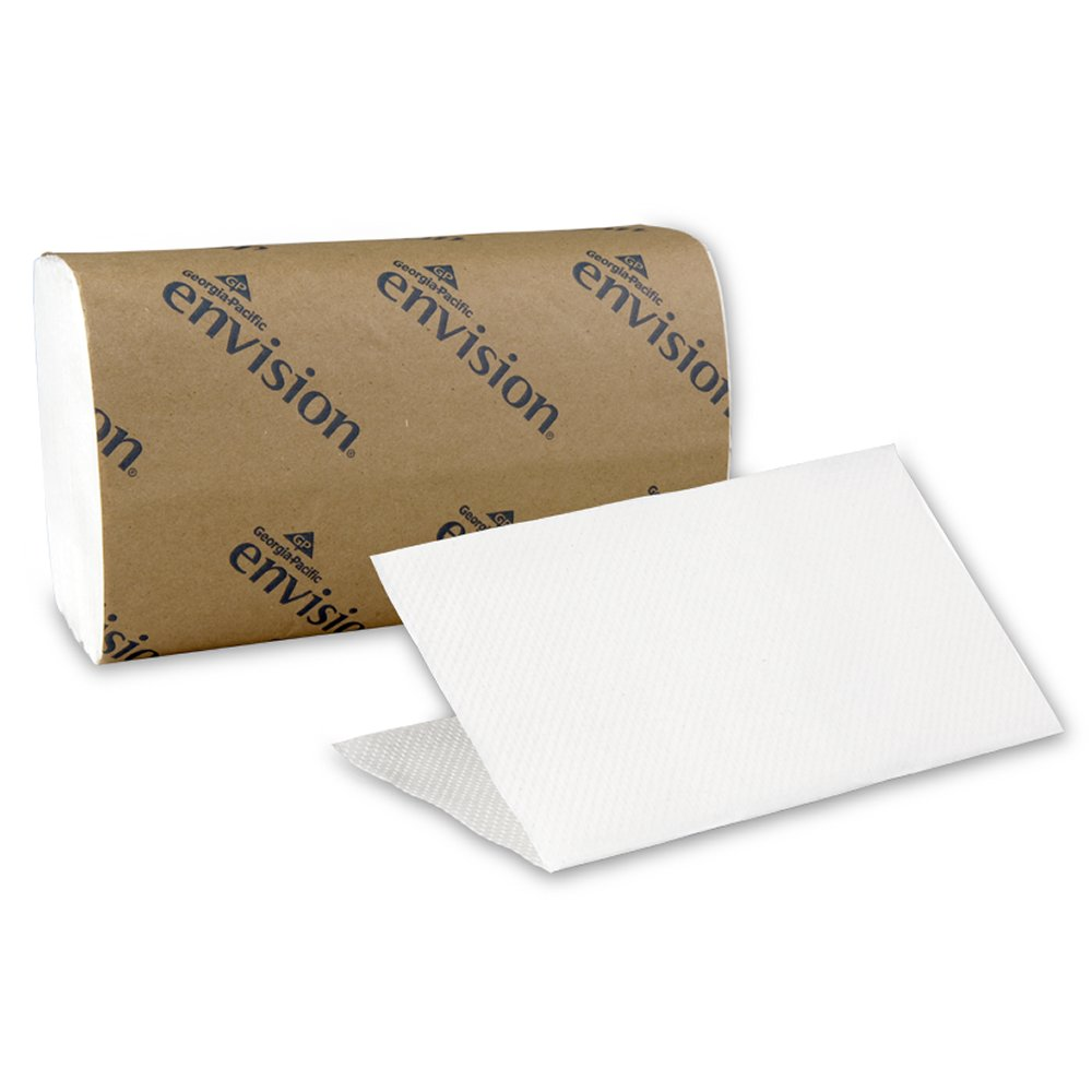 10073310209040 Envision� White Singlefold Paper Towels