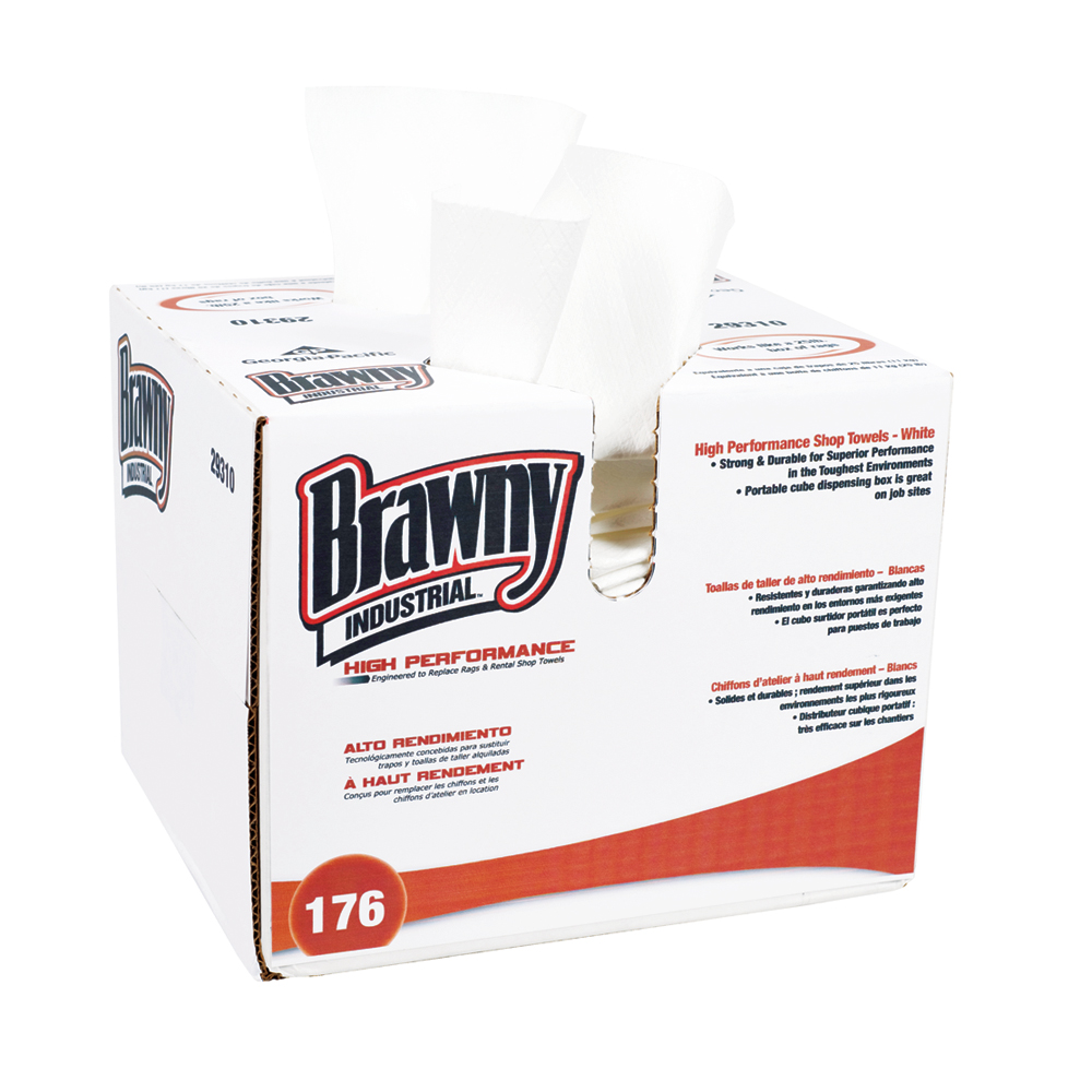10073310293100 Brawny Industrial® High Performance Shop Towel - Convenience Case