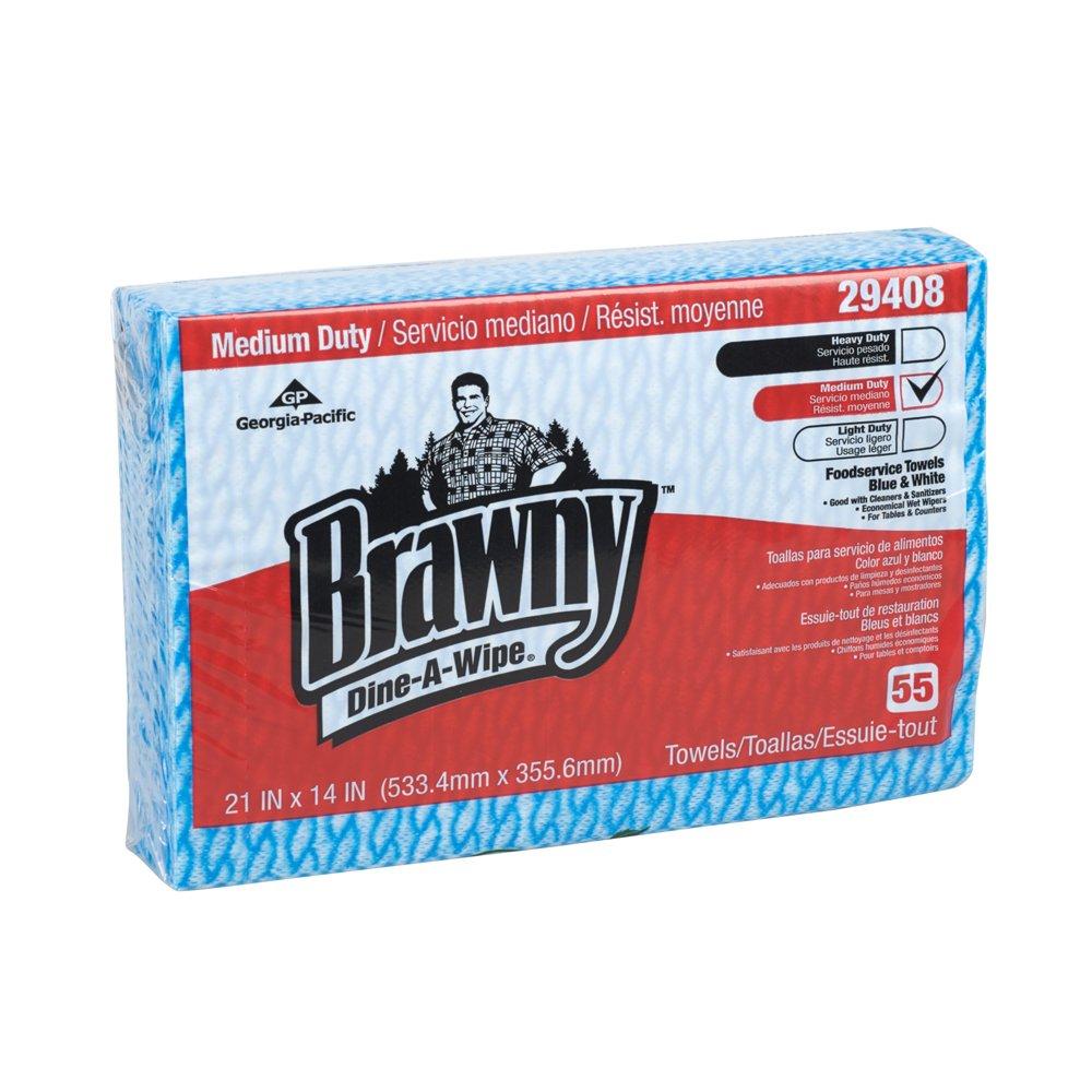 10073310294084 Brawny Dine-A-Wipe� Foodservice Quarterfold Busing Towel (HEF)