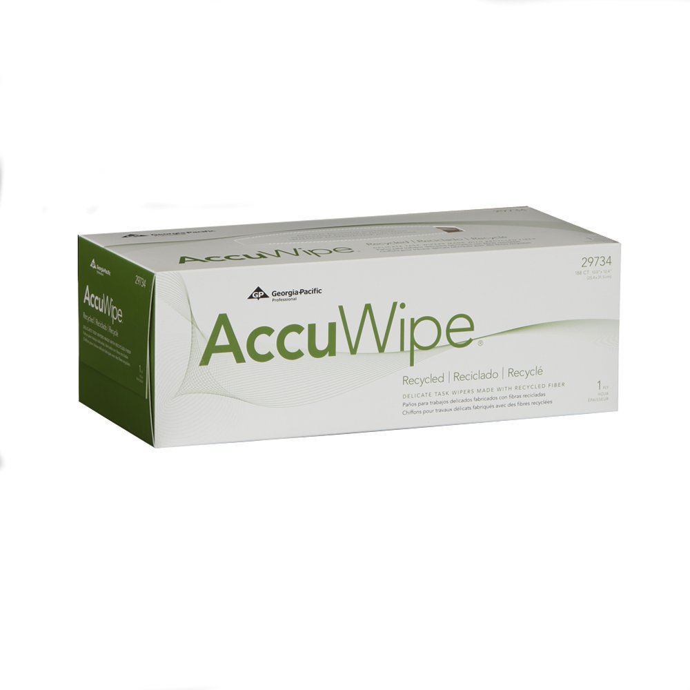 10073310302208 AccuWipe® Light Duty Technical Cleaning Wipers (Dispenser Box)