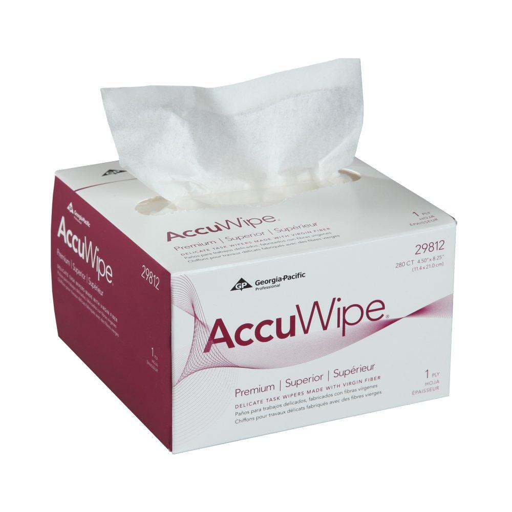 10073310298129 AccuWipe® White Premium 1-Ply Premium Delicate Task Wipers