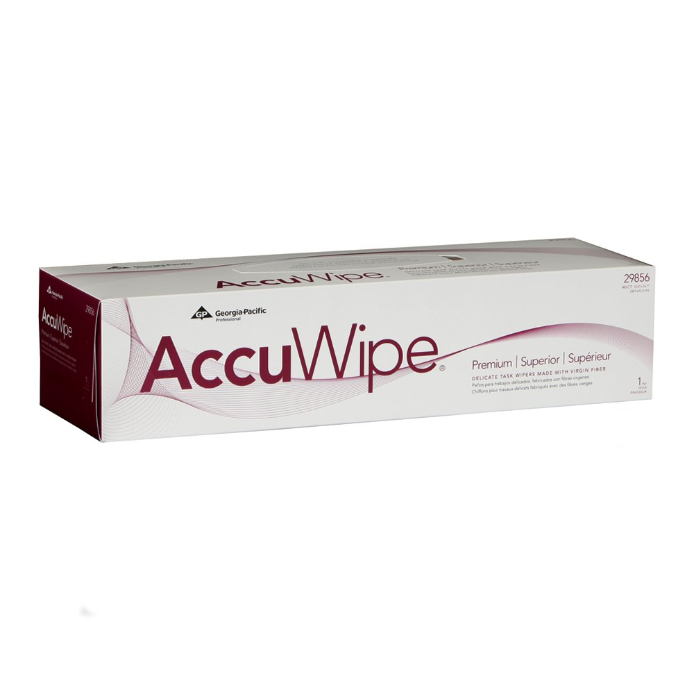 10073310298563 AccuWipe® White Premium 1-Ply Technical Cleaning Wipers