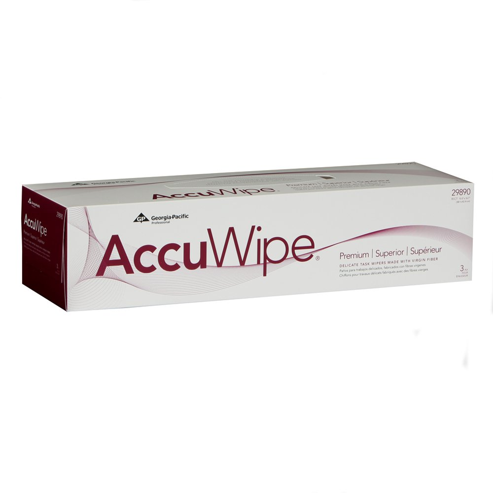 10073310298907 AccuWipe® White Premium 3-Ply Delicate Task Wipers