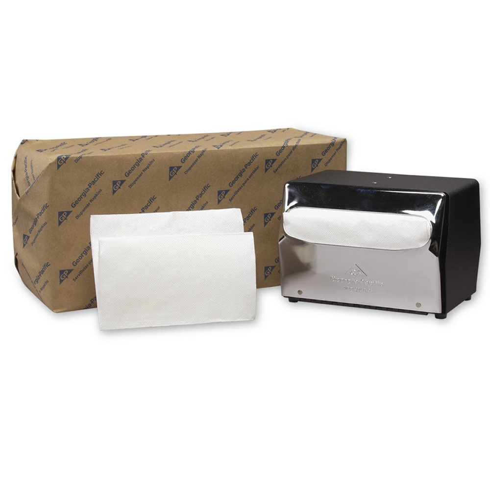 10073310378029 MorNap Jr.� White Full Fold Jr. Dispenser Napkins