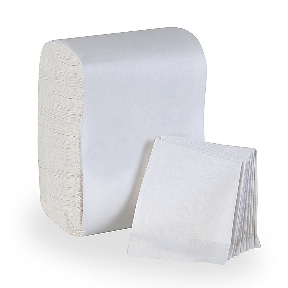 10073310392018 TidyNap® White Low Fold Dispenser Napkins