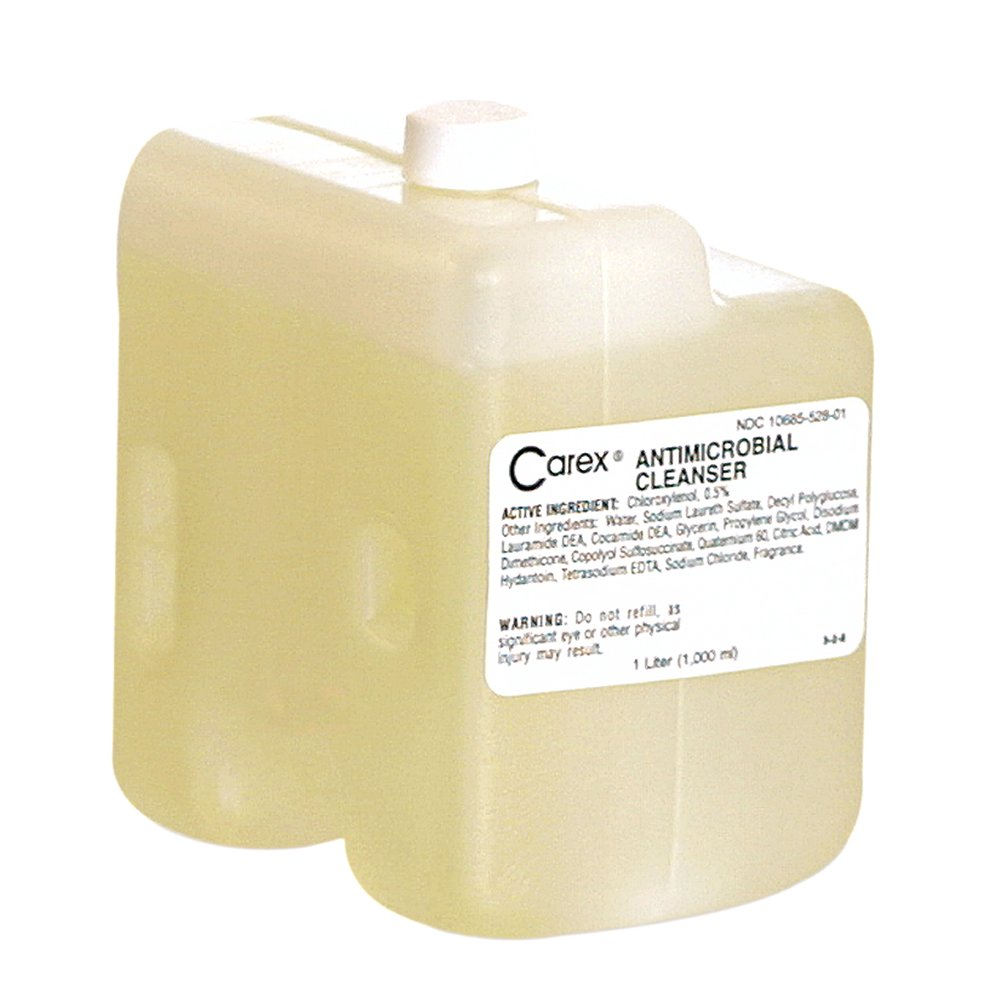 10073310480227 Carex® Antimicrobial Cleanser Refill Cartridge