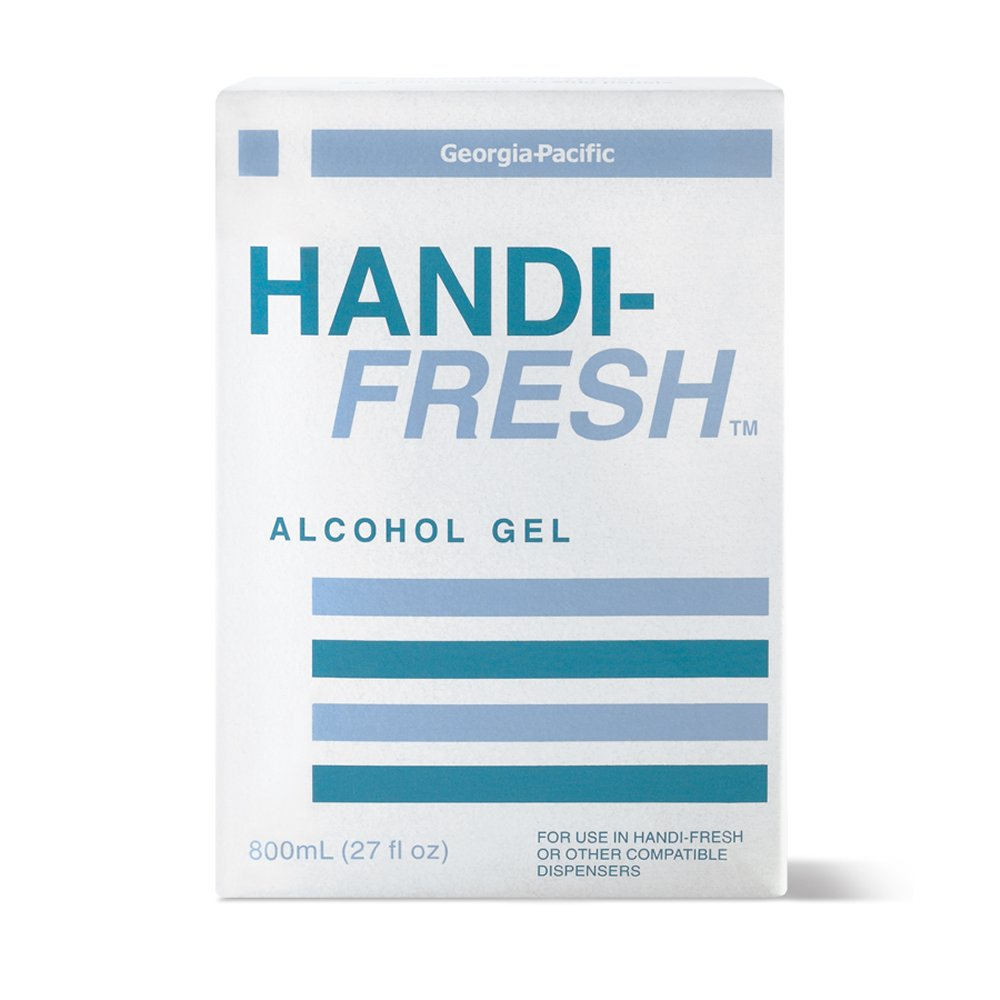10073310481149 Handi-Fresh� Clear 800 ml Alcohol Gel No Rinse Sanitizer