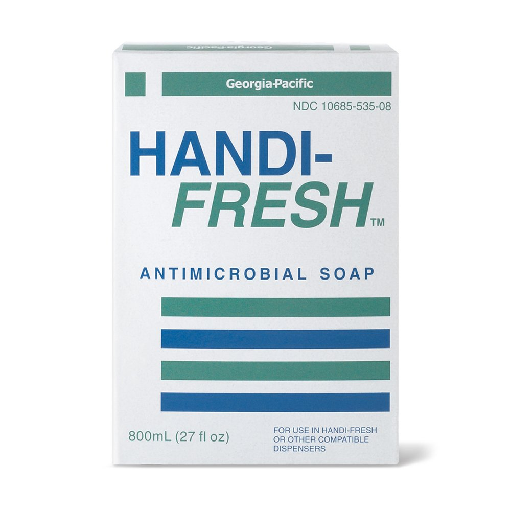 10073310481187 Handi-Fresh™ White Pearlescent 800 ml Liquid Antimicrobial Soap