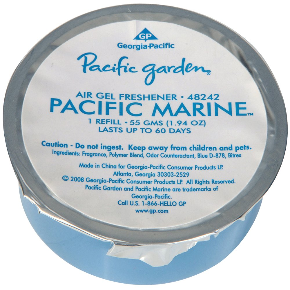 10073310482429 Pacific Garden�  Air Freshener Gel Refill - Marine Scent