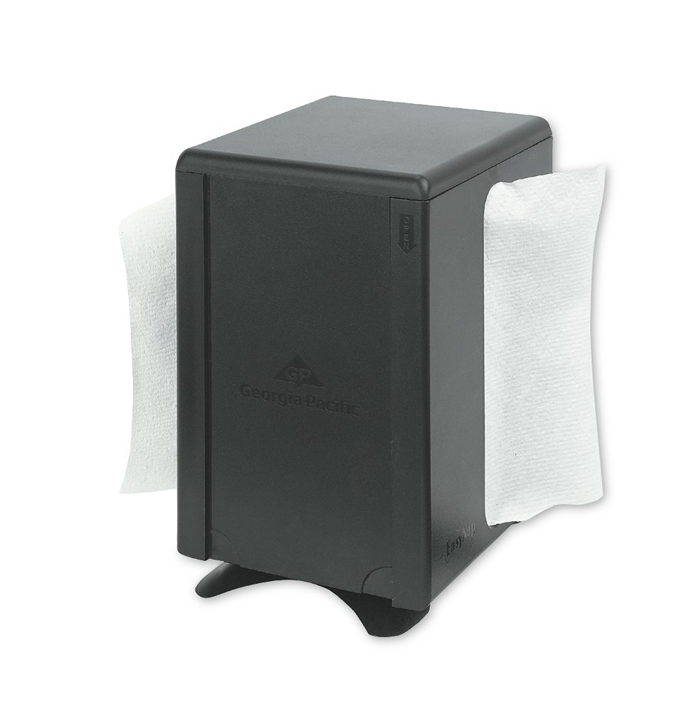 10073310542062 EasyNap® Black Tabletop Napkin Dispenser