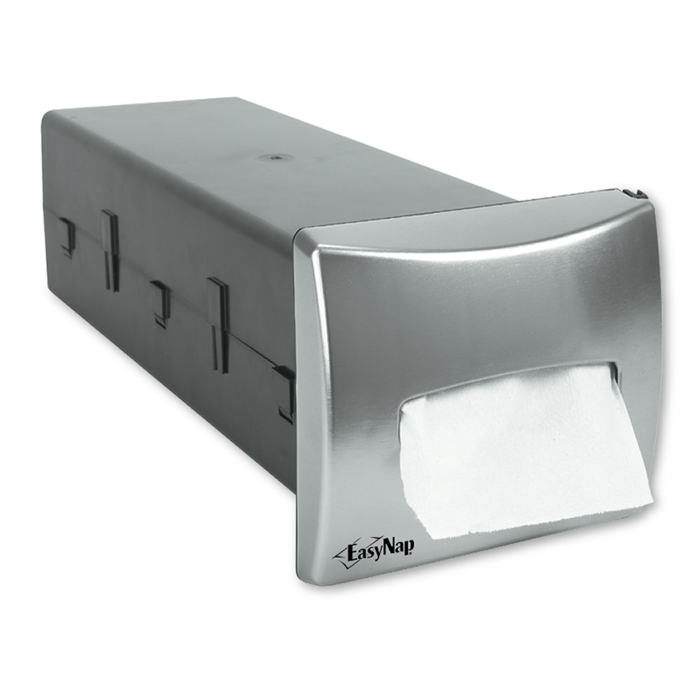 10073310542192 EasyNap� Brushed Stainless Finish In-Counter Napkin Dispenser