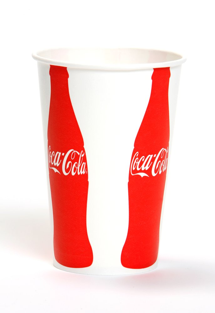 10078731909043 Coca Cola� Trademarked 21 oz. Paper Cold Cups VIS